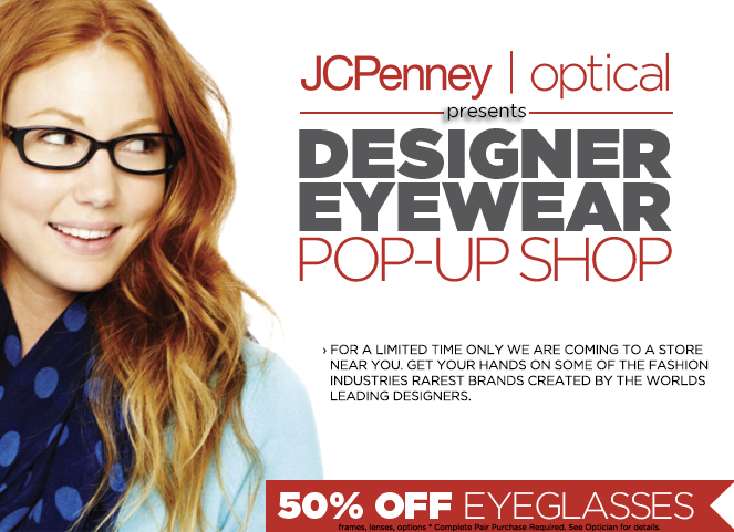 50% off eyeglasses!