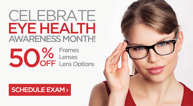JCPenney Optical Eye Health Awareness 50% OFF Eyeglasses