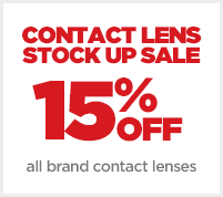 JCPenney Optical Contact Lens Stock-Up Sale 15% OFF